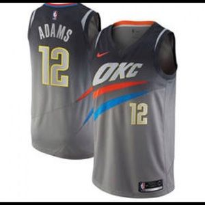 Nike NBA Oklahoma City Thunder Steven Adams Jersey